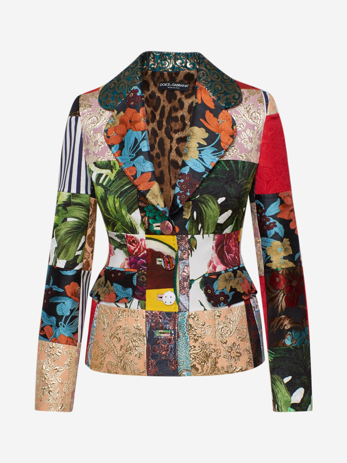 Dolce & Gabbana Coats MULTICOLOR BLAZER