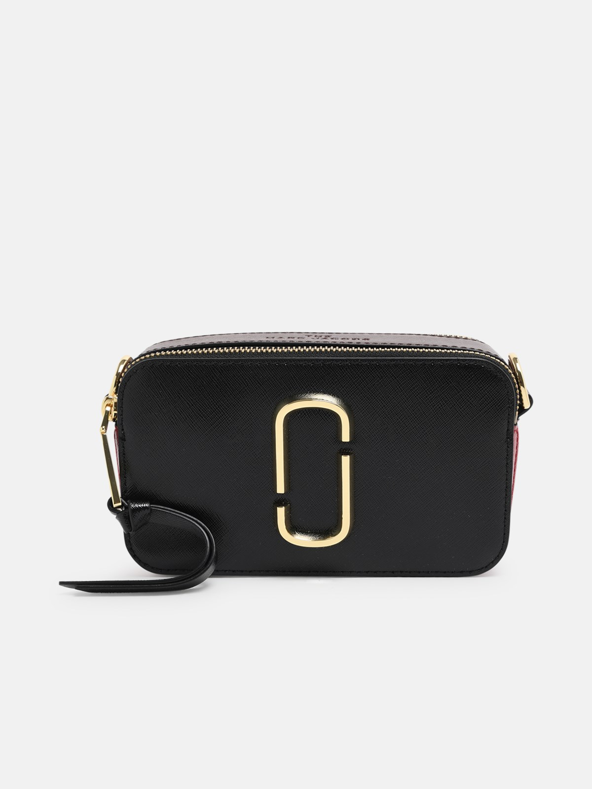Marc Jacobs (the) Tracolla Snapshot Mj Rossa E Nera In Black