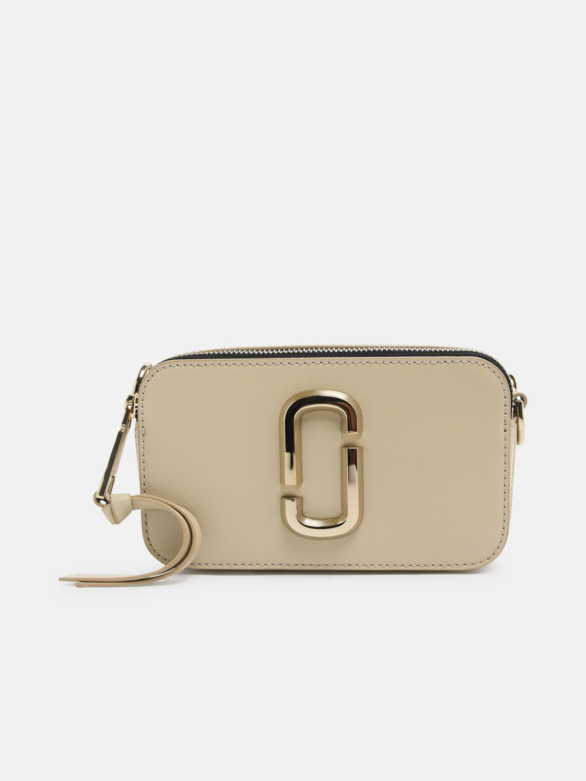 Marc Jacobs (the) Tracolla Snapshot Khaki In Beige